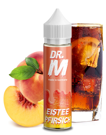 Dr. M Eistee Pfirsich 15ml Aroma Longfill