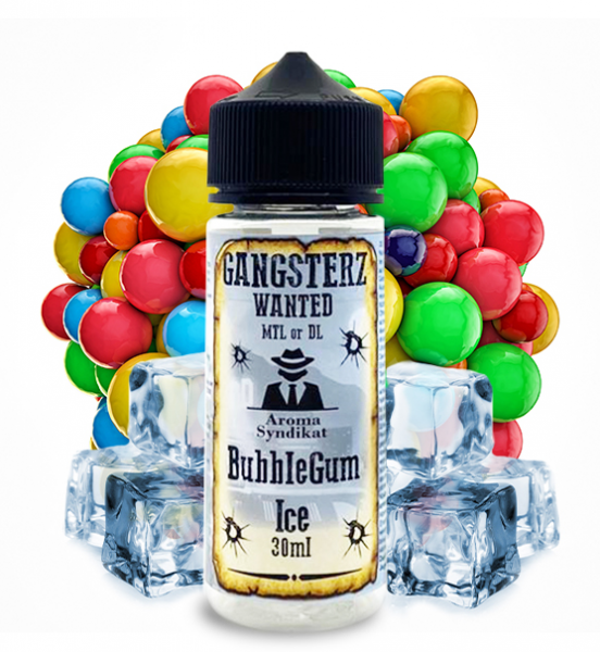 Gangsterz Bubble Gum Ice Aroma 30ml Longfill