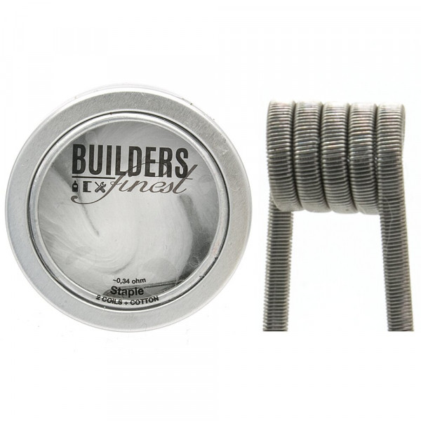 Builders Finest Handmade Staple 0,34Ohm