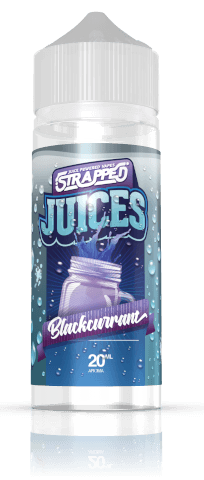 Strapped Juices Blackcurrant 20ml Aroma Longfille