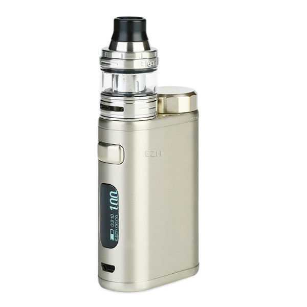iStick Pico 21700 Brushed Silver Kit mit Ello