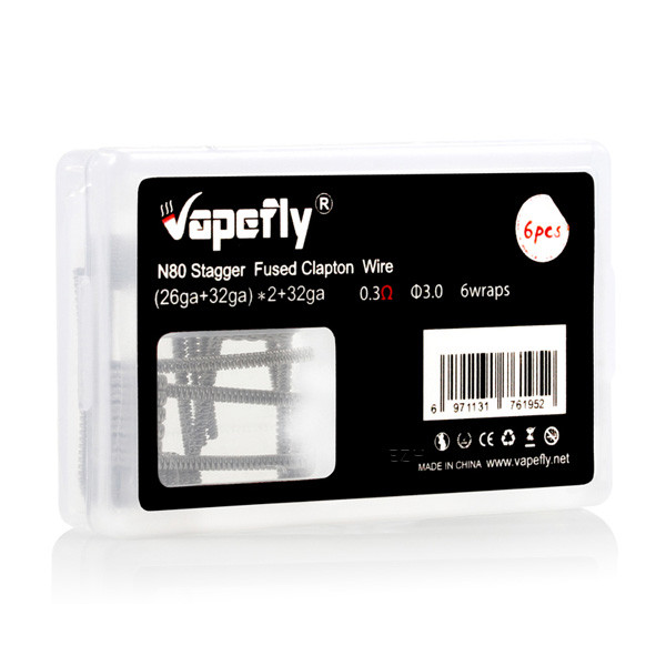Vapefly Stagger Fused Clapton Coils 26+32*2 0,3