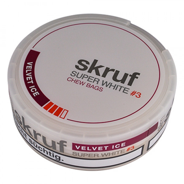 skruf Super White #3 Velvet Ice