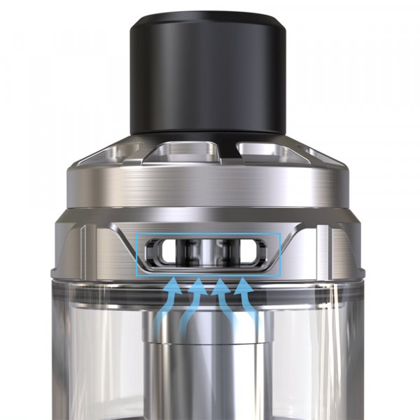 Cubis Max Clearomizer silber