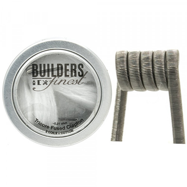 Builders Finest Handmade Tricore Fused Clapton 0,21Ohm
