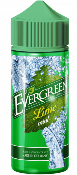 Evergreen Lime Mint 30ml Aroma Longfill