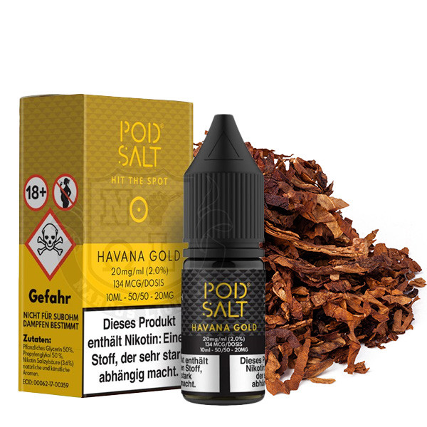 Pod Salt Havana Gold 20 mg