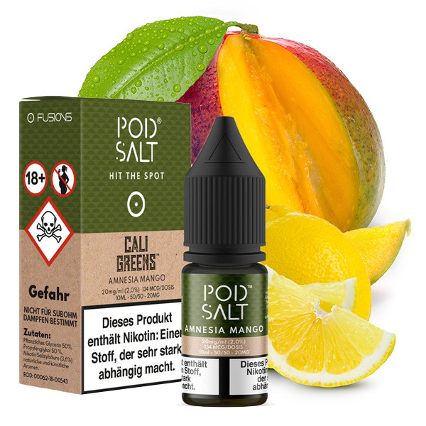 Pod Salt Cali Greens 20 mg