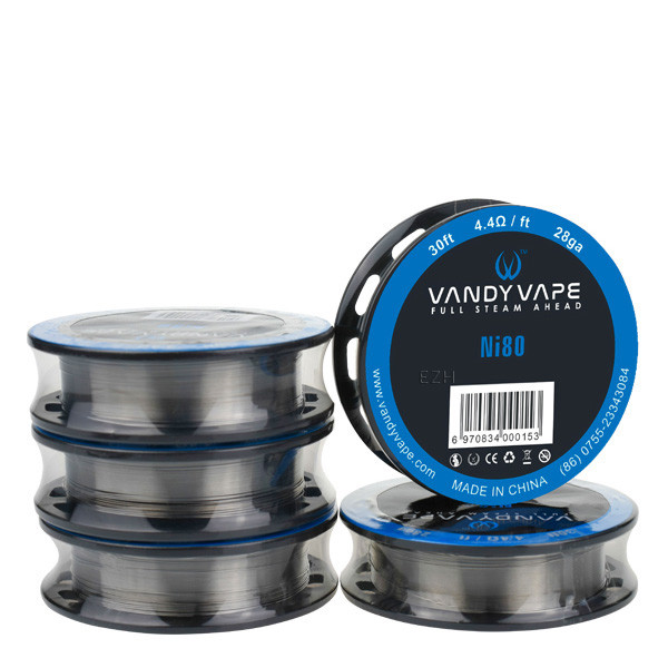 Vandy Vape Superfine MTL Fused Clapton Ni80 5,35Ohm/ft